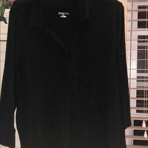 Button-Up Black Merona Shirt! NWT